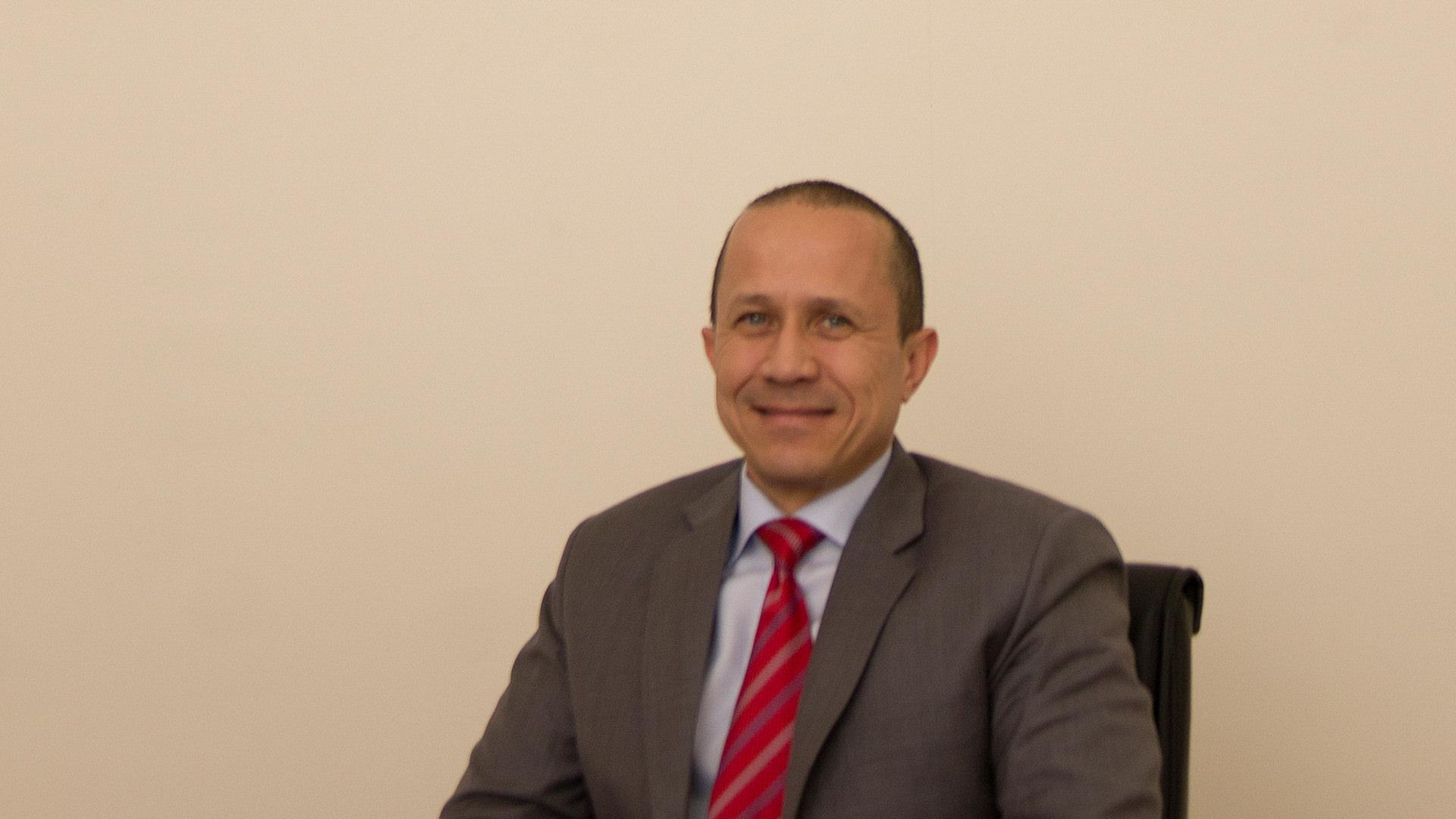 James van Vught, CEO of Ibn Al-Nafees Hospital