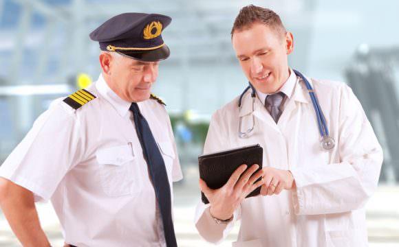 عيادة طب الطيران
