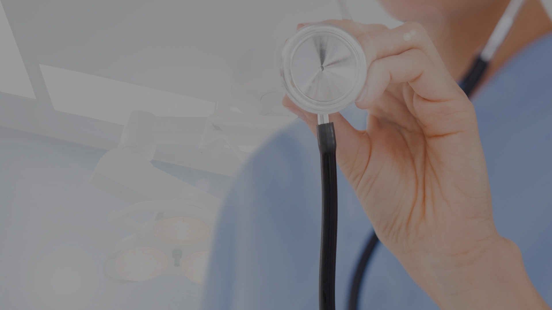 A man holding a stethoscope